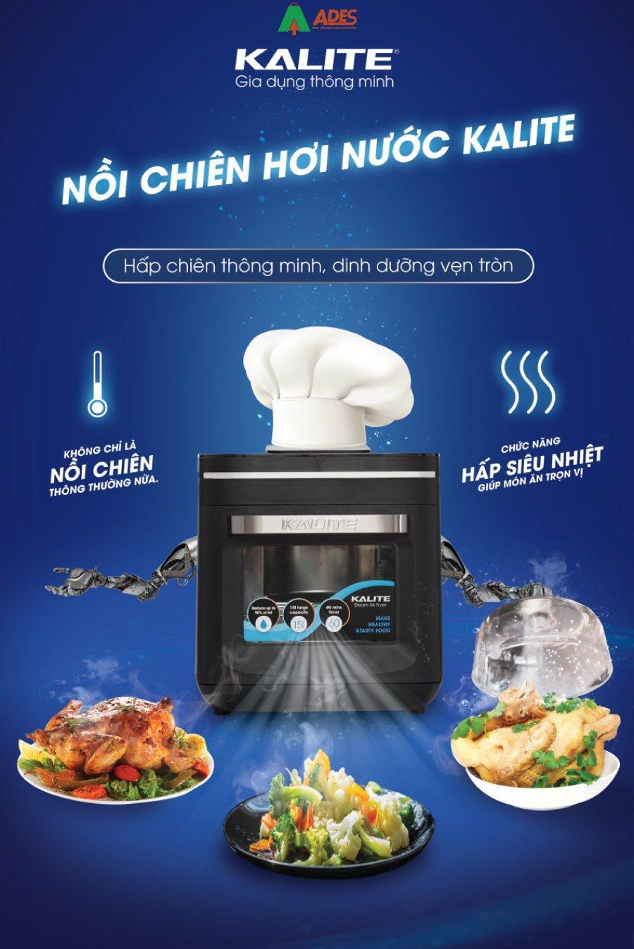 Noi Chien Khong Dau Kalite Steam X ti te trong tung chi tiet nho