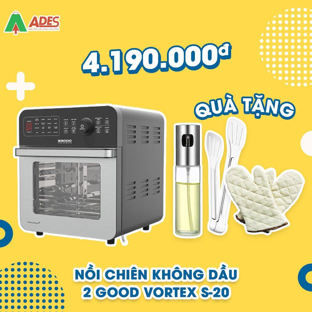 Noi Chien Khong Dau 2Good Vortex S-20 gia soc